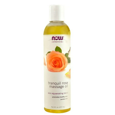 Rope Oil (NOW Solutions Tranquil Rose Massage Oil, 8 Fl Oz )