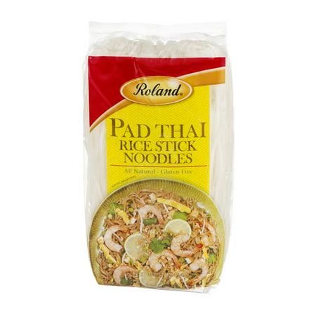 (6 Pack) Roland Pad Thai Rice Stick Noodles, 14