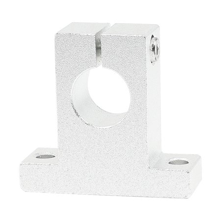 Unique Bargains 16mm Diameter Aluminum Motor CNC Pillow Block Shaft Linear Guide Support (Linear Guide Cnc)