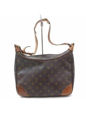 1d2d94632a4 Product Image Boulogne Monogram Zip Hobo 868638 Brown Coated Canvas  Shoulder Bag. Louis Vuitton