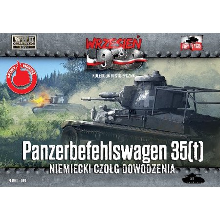 1/72 WWII Panzerbefehlswagen 35(t) German Tank - image 1 de 1