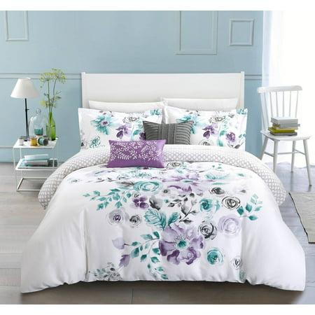 Chic Home Aylett 5 Piece Reversible Comforter Set