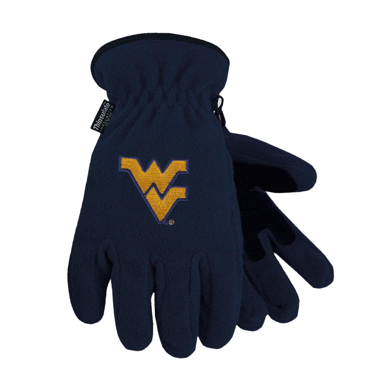 West Virginia University Heavy-Weight Fleece Gloves by