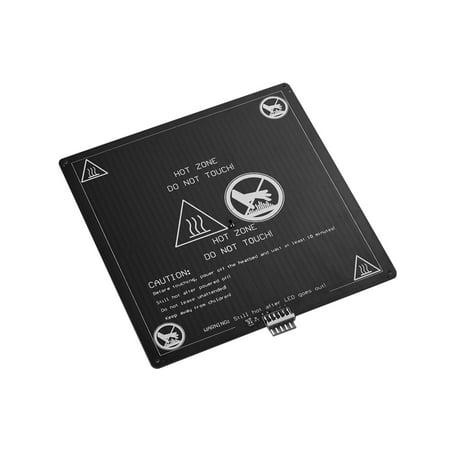 Lit chauffé en aluminium 12V Hotbed 220 * 220 * 3mm d'Aibecy avec le kit de plate-forme de lit chauffant en câble métallique pour Anet A8 A6 pièces d'imprimante 3D - image 3 de 4
