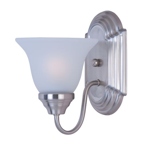 "Maxim 8011 1 Light 9.5"" Tall Wall Sconce from the Essentials Collection"