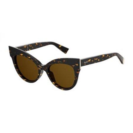 Max Mara MM MmAnita Sunglasses 0086 Dark (Max Mara Round Sunglasses)