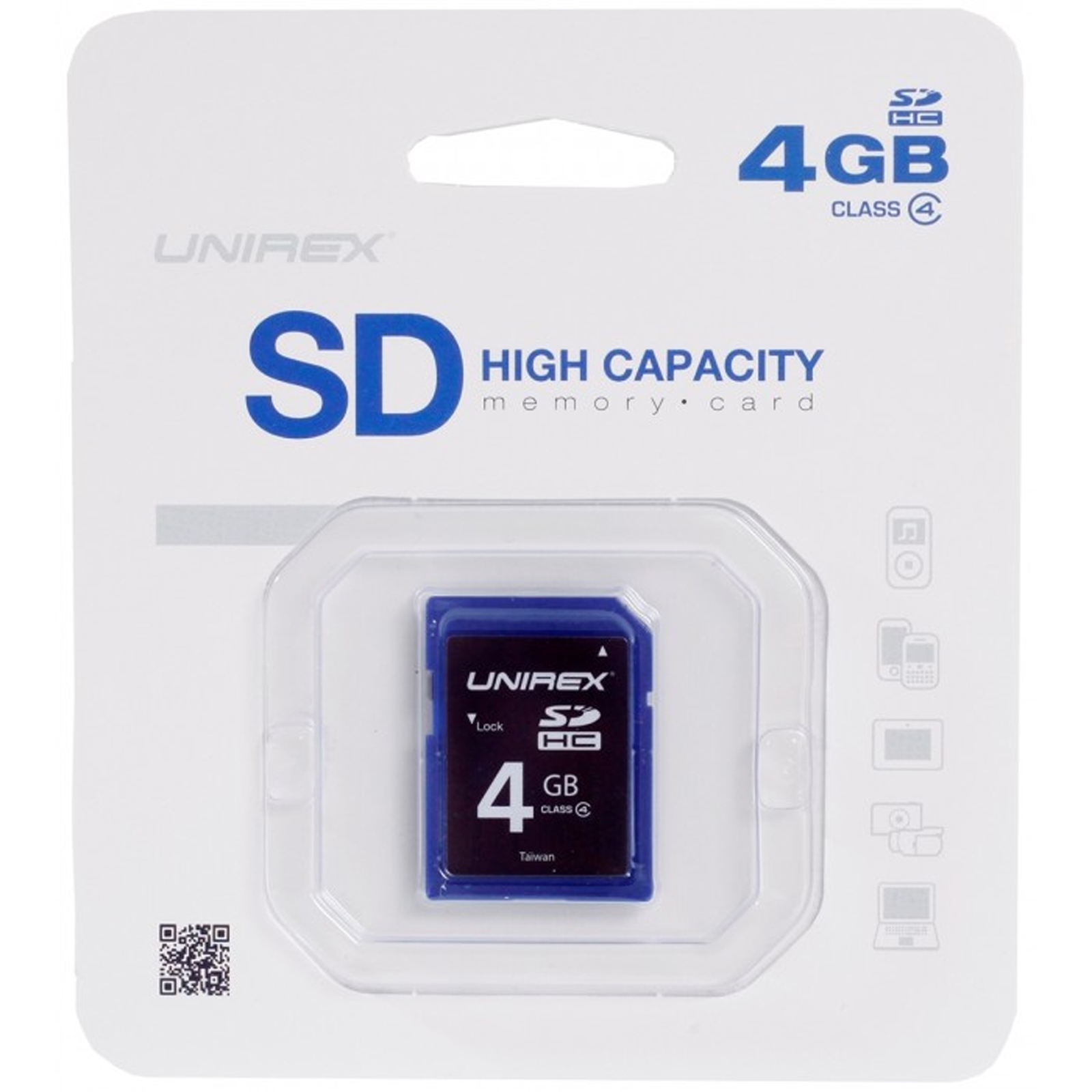 Unirex SD High Capacity Card 4GB Class 4