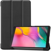 Mazepoly Samsung Galaxy Tab A 8.0 2019 Case T290 T295, Slim Light Cover Trifold Stand Hard Shell Cover for 8.0 inch Galaxy Tab A 2019 Model SM-T290 (Wi-Fi) SM-T295 (LTE), Black