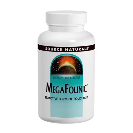 Mega Folinic Source Naturals, Inc. 60 -