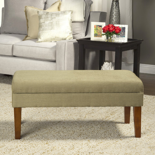 HomePop Kinfine Decorative Upholstered Bench