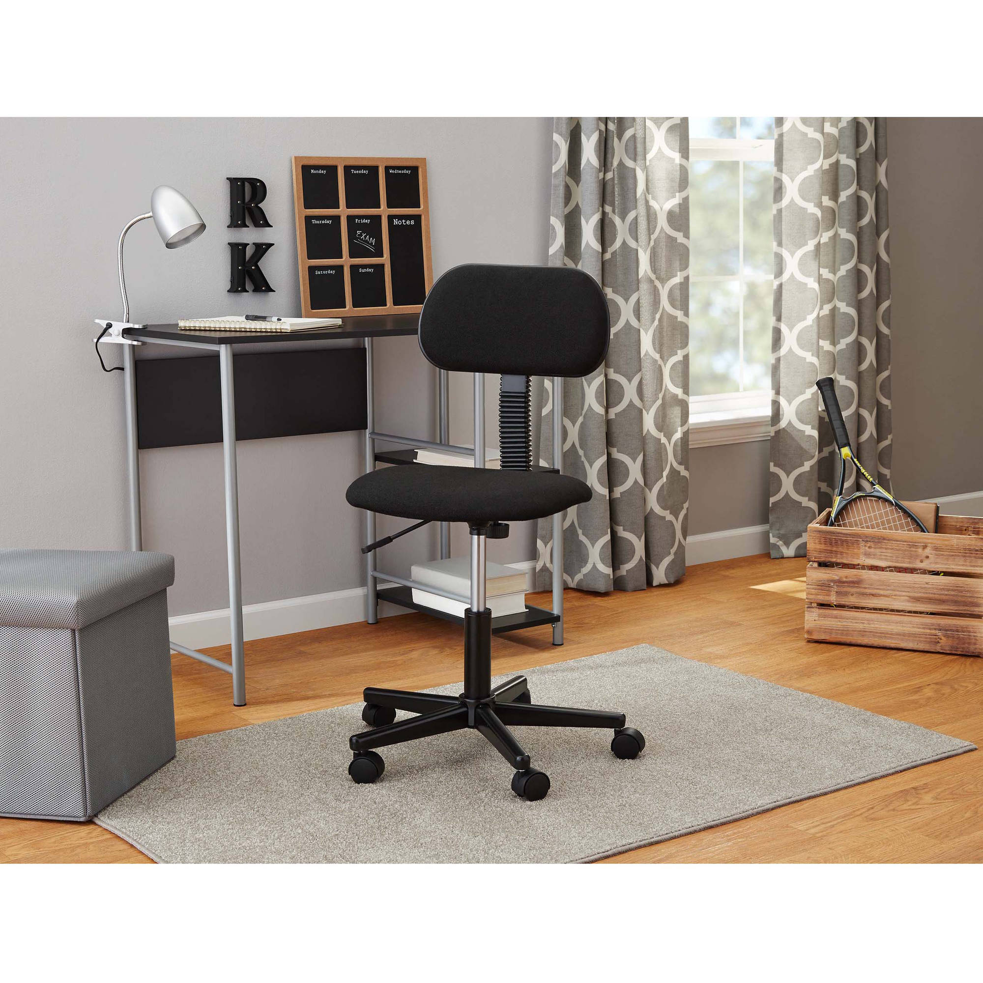 Mainstays Fabric Task Chair in Multiple Colors