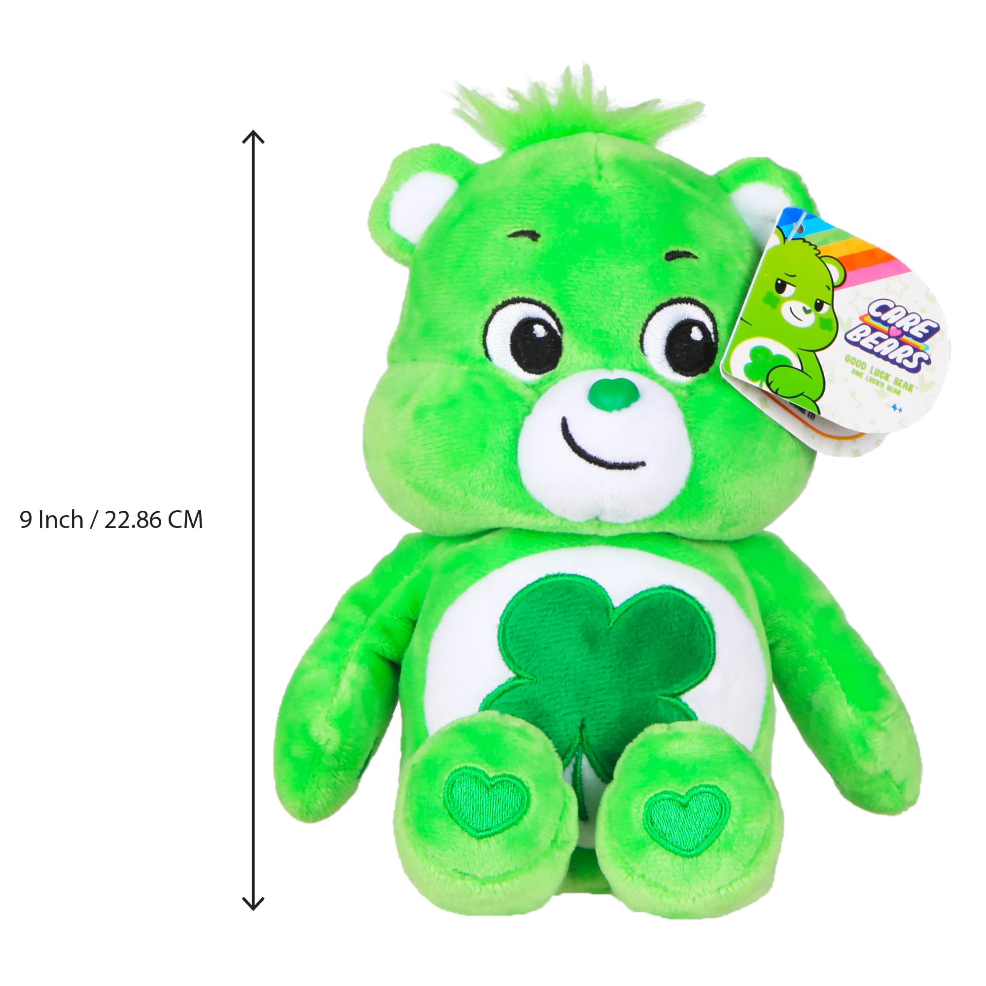 Care Bears GOOD LUCK Backback Clip Keychain Dangler Plush Walmart Exclusive NEW