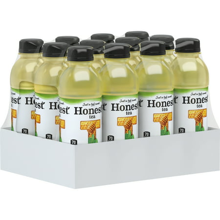 Honest Tea Organic Fair Trade Honey Green Gluten Free, 16.9 fl oz, 12 (Best Bottled Teas To Drink)