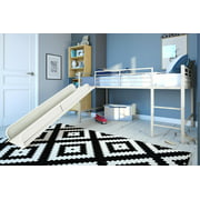 DHP Junior Loft with Slide, Silver with Blue Slide
