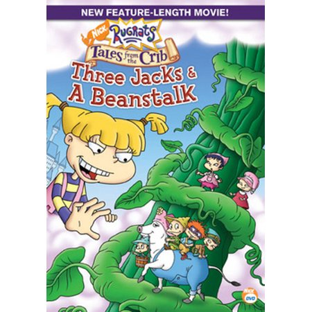 Rugrats Tales from the Crib: Three Jacks & A Beanstalk (DVD) - The Rugrats Halloween Vhs