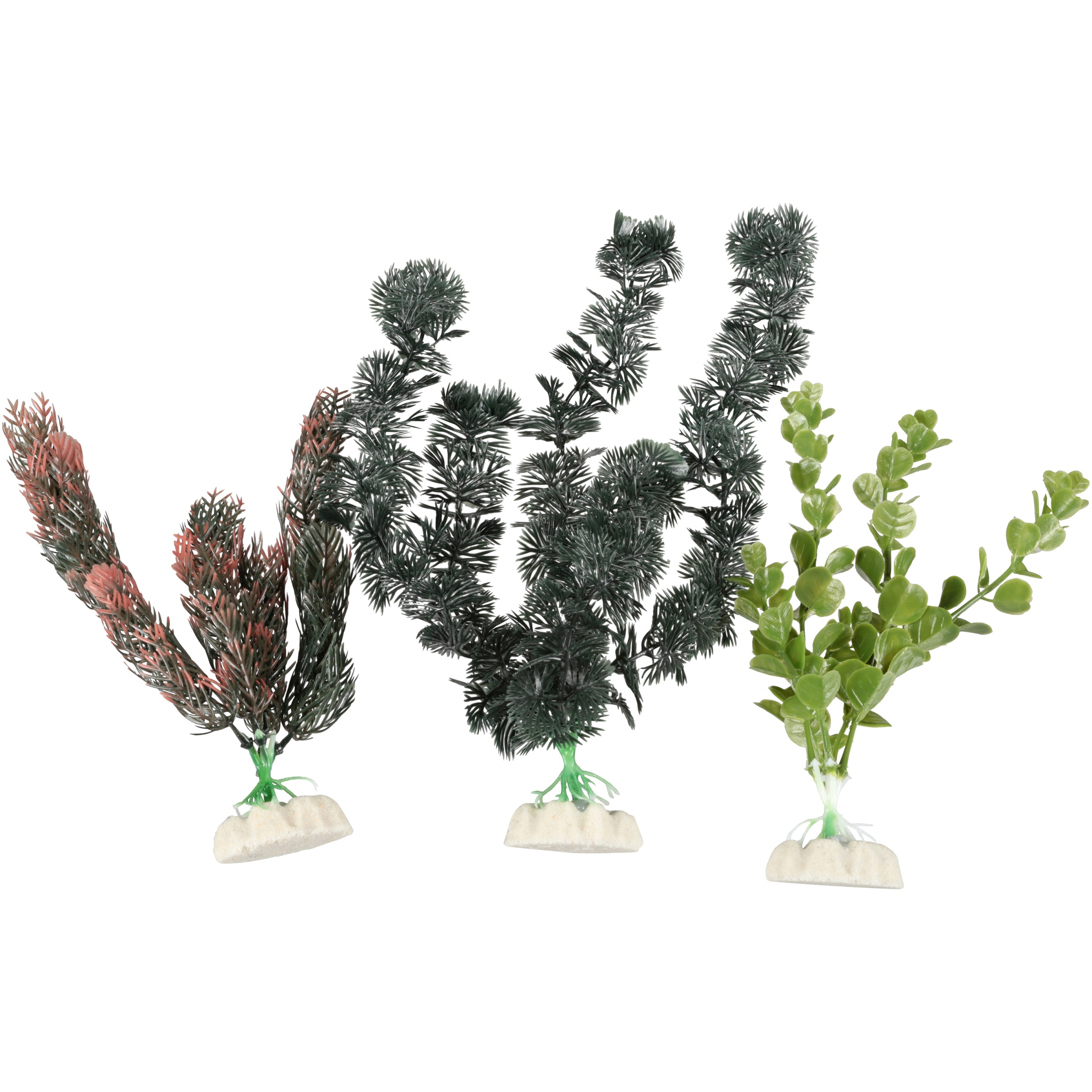 Aqua Culture Aquarium Plants 3-Piece Value Pack, 3-Pack