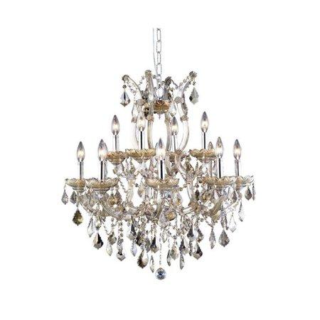 Elegant Lighting Maria Theresa 13 Light Elements Crystal Chandelier - image 1 de 1