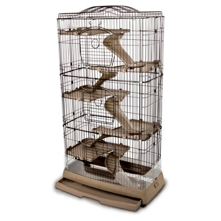 Ware Clean Living 6 Level Chinchilla / Ferret Cage (Ferret Chinchilla Rat)