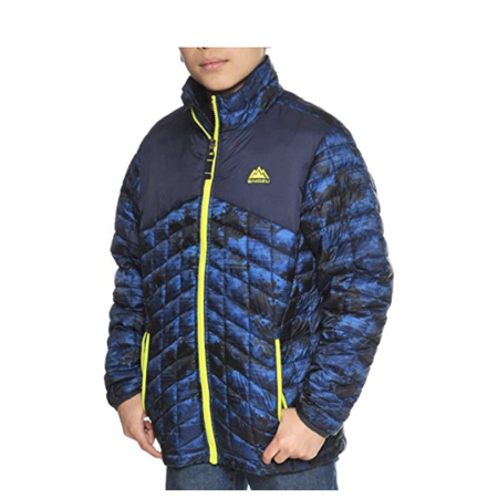 Snozu Boys' Glacier Shield Quilted Jacket
