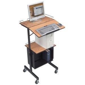 Balt Adjustable Laptop Cart (BALT DIVERSITY STAND MULTIPURPOSE AV CART)