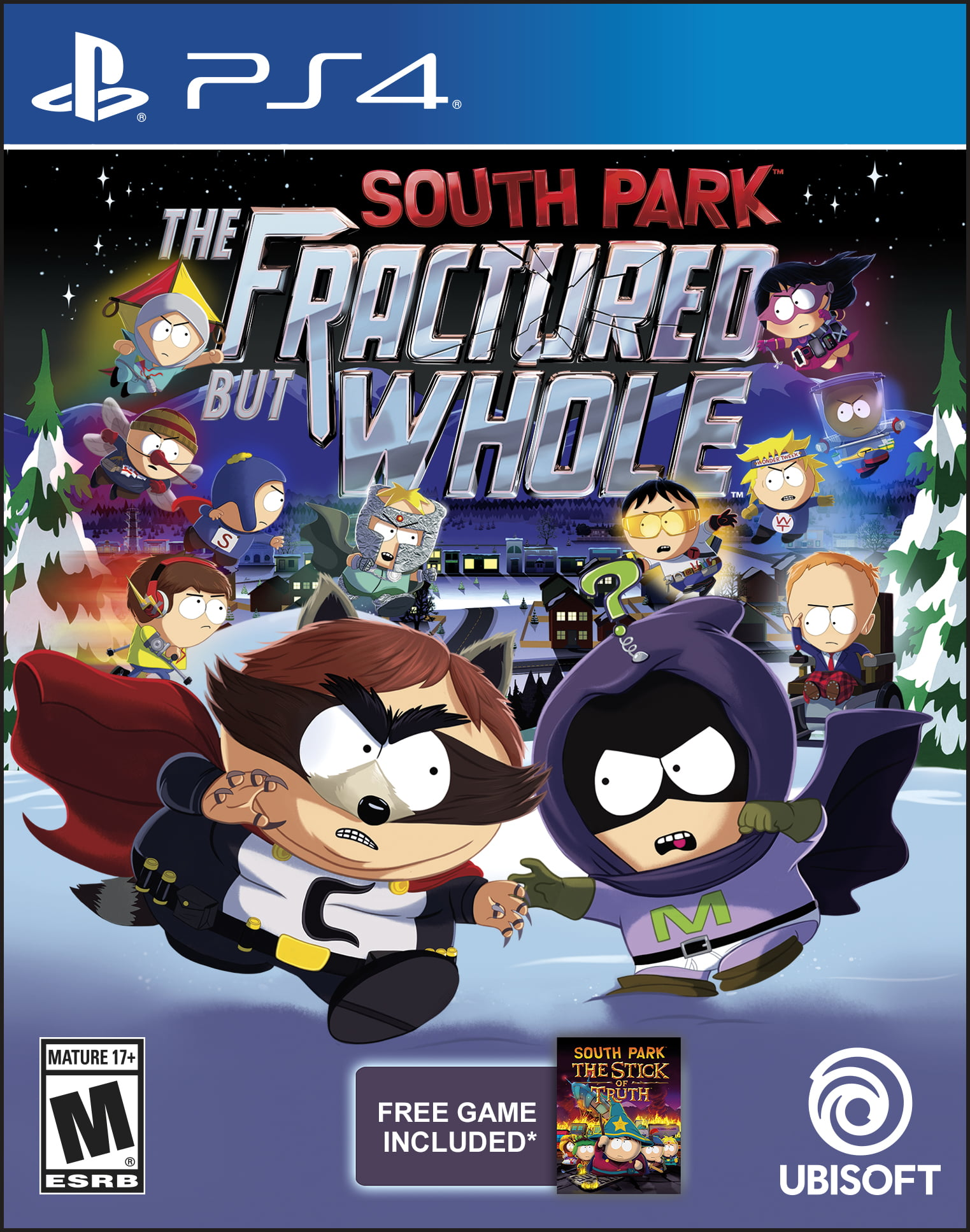 South Park: The Fractured But Whole Day 1 Edition, Ubisoft, PlayStation 4, 887256015770 by Ubisoft