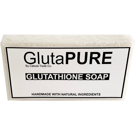 Gluta PURE Premium Glutathione Skin Lightening Anti-Aging Soap Bar -