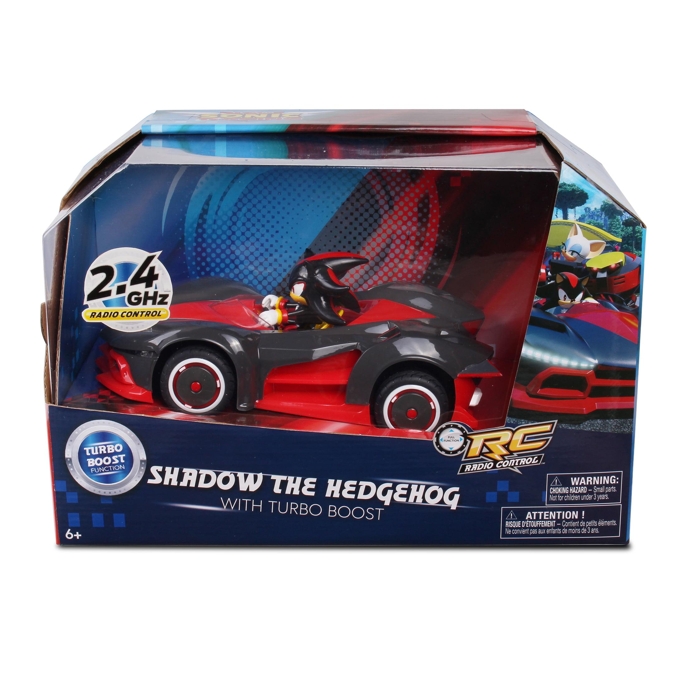 Nkok Sonic Team Racing Radio Controlled Shadow The Hedgehog W Turbo Boost Walmart Com Walmart Com