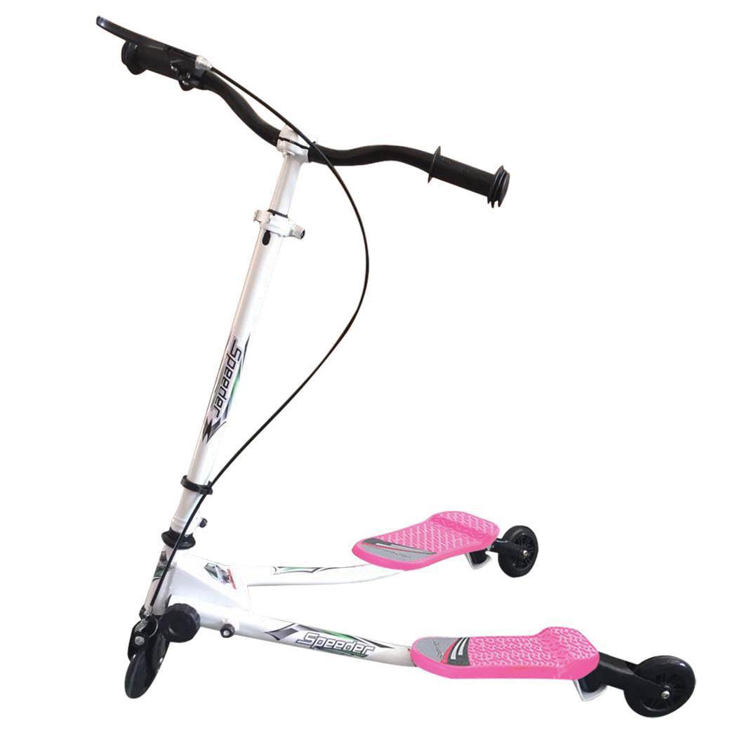 New Years Gift 3 Wheel Kick Scooter Swing Tri Slider Motion Winged Drifter kids Boys Girls... by