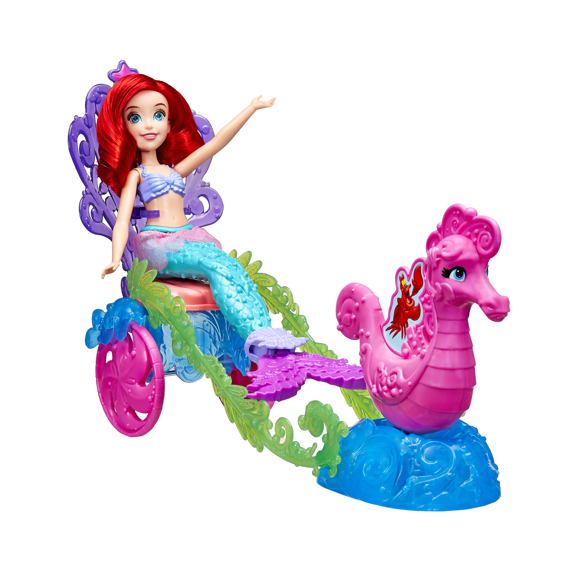 Disney Princess Ariel's Under the Sea Carriage by Hasbro