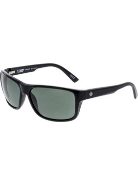 d8b15e0d3a Product Image Spy Men s Polarized Arcylon 673521038864 Black Rectangle  Sunglasses