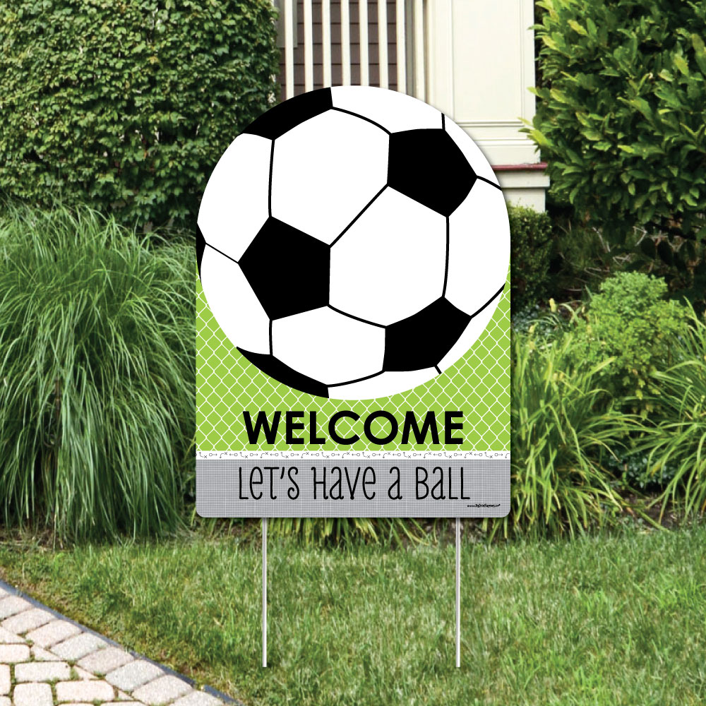 GOAAAL! - Soccer - Party Decorations - Birthday Party or Baby Shower Welcome Yard Sign