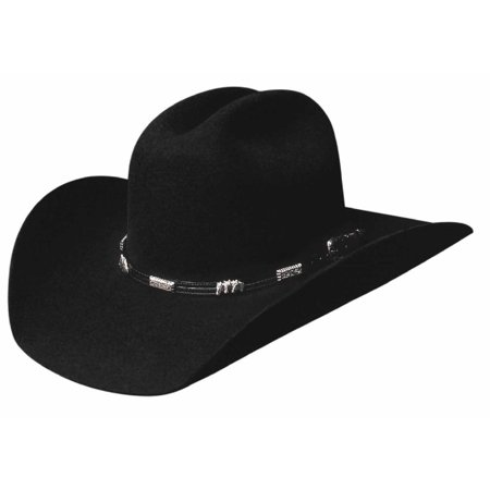 Bullhide Hats 0351BL BUCKAROO COLLECTION ROCKFORD 4X Cowboy (Buckaroo Collection)