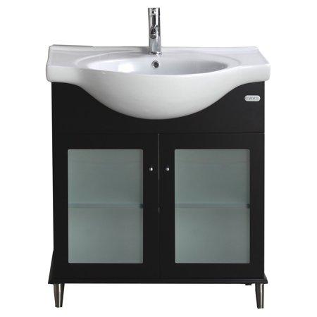 Eviva Tux 24 In Single Sink Bathroom Vanity Set Walmart Com
