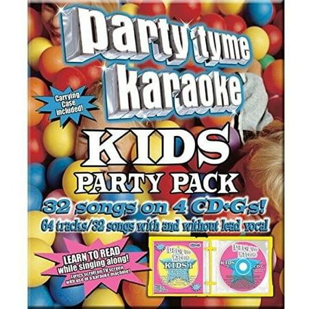 Party Tyme Karaoke: Kids Song Party Pack (Various Artists) (Digi-Pak)