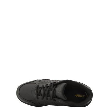 Tredsafe Men's Mario Slip-Resistant Athletic Shoe, Wide Width