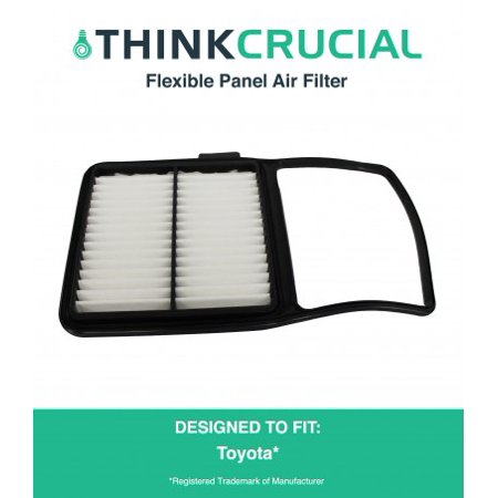 Panel Filter Part (Rigid Panel Air Filter Fits Toyota, Compare to Part # A25698 &)