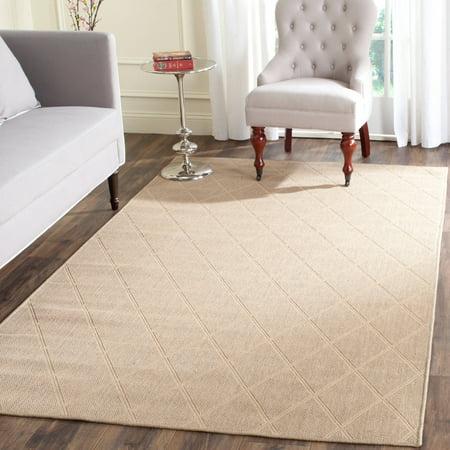 safavieh palm beach miranda hand woven area rug seagrass. Black Bedroom Furniture Sets. Home Design Ideas