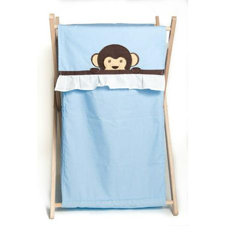 Pam grace creations maddox monkey laundry hamper - Monkey laundry hamper ...