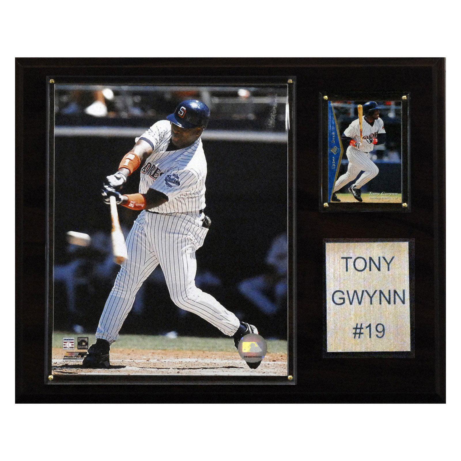 C&I Collectables MLB 12x15 Tony Gwynn San Diego Padres Player Plaque