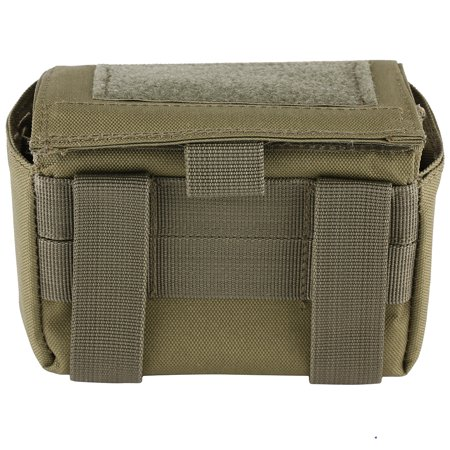 Zerone 3Colors 15 Round Shotshell Ammo Bag Rifle Cartridge Holder Pouch Carrier Magazine Pouch, Ammo