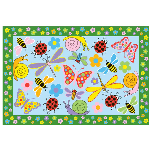 Fun Rugs Fun Time Exotic Creatures Kids Rug