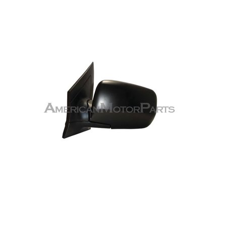 Replacement Alta MARAHEL Driver Side Black Power Mirror For - Acura mdx side mirror replacement
