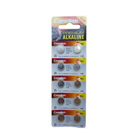 50-Pack AG6 / 370 / 371 Button Batteries - image 1 de 1
