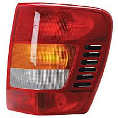 Go-Parts OE Replacement for 2001 - 2004 Jeep Grand Cherokee Rear Tail Light Lamp Assembly / Lens / Cover - Right (Passenger) 55155138AJ CH2801150 Replacement For Jeep Grand