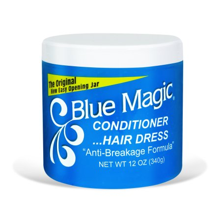 (2 Pack) Blue Magic Conditioner and Hair Dress Anti-Breakage Formula, 12.0