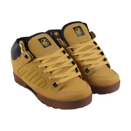 ea5f4e6c652 DVS Militia Boot Mens Tan Nubuck Lace Up Skate Shoes