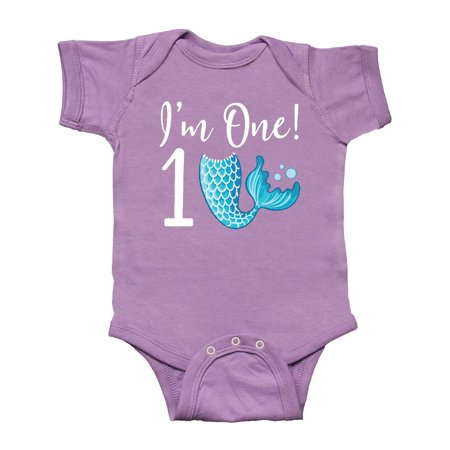 1st Birthday Mermaid Party Infant Creeper](Little Mermaid 1st Birthday Party)