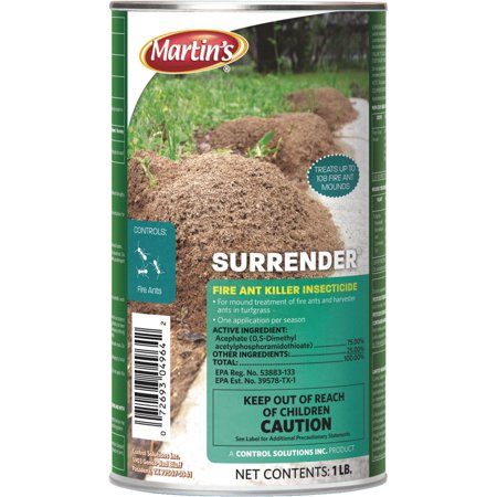 Martin's Surrender Fire Ant Killer