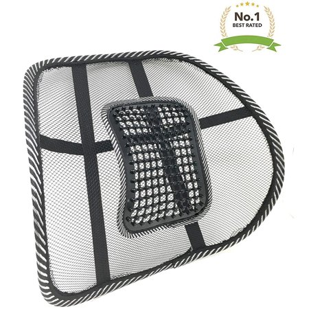 New Lightweight Mesh Back Support with Massage Vent Mesh Design 2018 Best Lower Back Brace Support Car Seat Chair Cushion