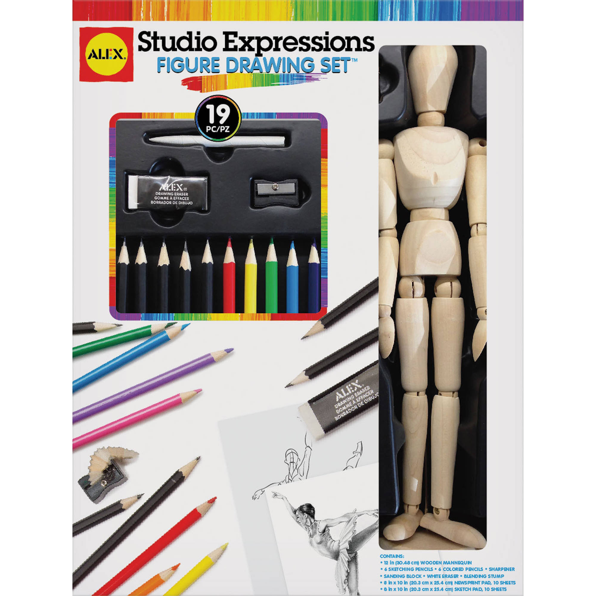 ALEX Art Studio Expressions Figure Drawing Set by Alex Brands